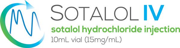 Sotalol IV sotalol hydrochloride injection 10mL vial (15mg/mL)