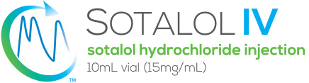 sotalol hydrochloride 10mL vial (15mg/mL)